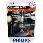"Лампа 12 В, Н7,  55 Вт, ""Philips"" +40% City Vision Moto [12972PRBW] блистер"