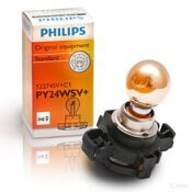 "Лампа 12 В,  24 Вт (PY PGU20/4) ""Philips"" Yellow Silver [12274SV]"