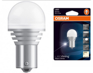 "Лампа 12 В, 21 Вт (BA15S) ""Osram"" LED WARM WHITE 3000K [7556WW] блистер"